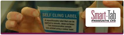 self cling label